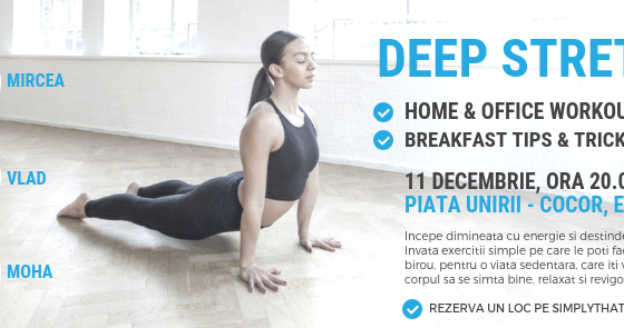 Deep Stretching Workshop